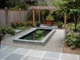modern home fish pond idea picture