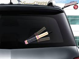 Lipsense Lipstick Wipertag Advertising Covers Attach To Rear Wiper Blades Wipertags