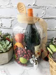 sangria succulents gift basket ideas