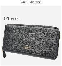 coach coach wallet crsgr lth acc zip