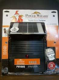 Power Wizard Pw500s Solar Fence Charger 12v 1 100 Acres For Sale Online Ebay