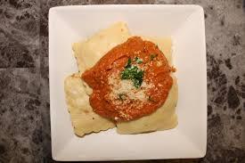 y en sausage ravioli with