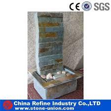 wall rusty slate mounted water