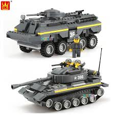 Bộ lego xếp hình Wange Khối Quân Sự Dòng Đồ Chơi Xe Tăng Hạng Nặng ...