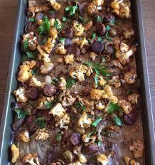 Roasted Cauliflower, Sausage & Green ...
