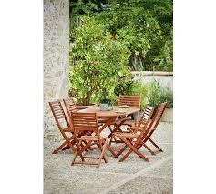 home newbury 6 seater wooden patio set