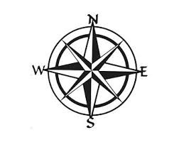 Compass Decal Etsy