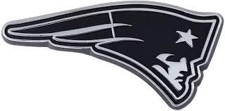 Amazon Com Nfl New England Patriots Premium Metal Auto Emblem Football Apparel Sports Outdoors