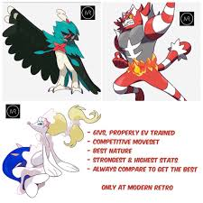 {DEAL OF THE DAY} Shiny 6IV ALL 3 Alola Starters Pokemon Sun ...
