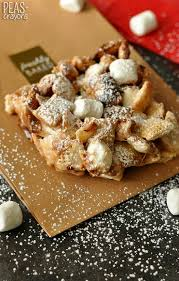 chocolate marshmallow chex squares