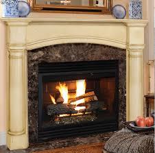 standard size fireplace mantels