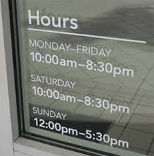 Camera Phone Uses The Combination Of A Camera Phone Coupled With An App Called Camscanner Lets You Ca Store Hours Sign Business Hours Sign Store Front Windows