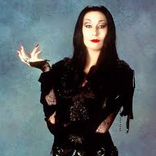 morticia addams look for halloween