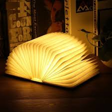 Warm Desk Lamp Bedroom Foldable Book Night Light Kids Room Table Bed Battery New Ebay