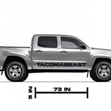 Tacomabeast Side Decal Comes In Pairs