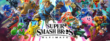 super smash bros ultimate hd wallpaper