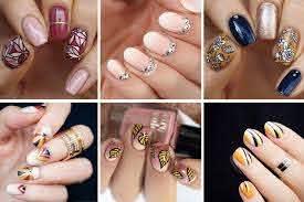 fall nails 12 fabulous nail art ideas