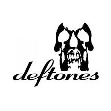 Amazon Com Deftones Band White Logo Decal Sticker Automotive