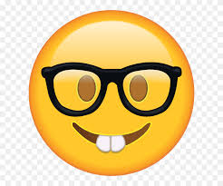 Download Nerd With Glasses Emoji School Emoji - School Emoji PNG ...