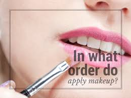 what order do you apply makeup