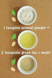 fix everything oatmeal green tea mask