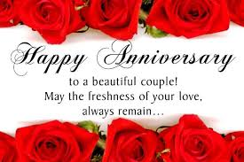 wedding anniversary wishes for friends wishesmsg