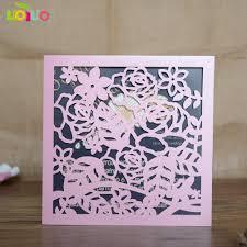 Cartas De Invitacion De Cumpleanos De Flor Elegante De Alta