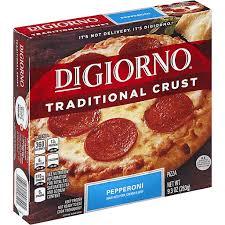 digiorno pizza traditional crust