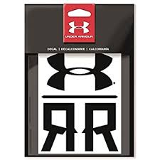 Amazon Com Under Armour Ua Logo Emblem Decal 2 Pack One Size Fits All Silver Automotive