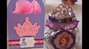 Recuerdos De Cumpleanos De Princesa Sofia Youtube