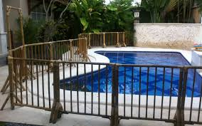 Bali Pool Fence Hire Rolling Along With Kids
