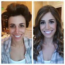 before and after hair and makeup portfolio