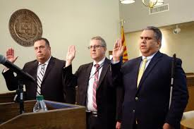 Familiar faces take oaths to serve in local court system   Local ...
