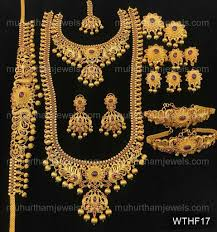 bridal jewellery sets on get