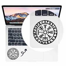 Viking Compass Laptop Trackpad Decal For Apple Macbook Pro Air Retina 11 12 13 15 Inch Mac Hp Touchpad Vinyl Laptop Sticker Skin Laptop Skins Aliexpress