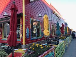 Wharf restaurants for non-tourists