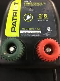Patriot Pe2 Electric Fence Energizer 0 10 Joule Works Perfectly Fast Shipping Ebay