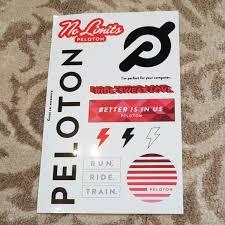 Peloton Accessories Stickers Poshmark