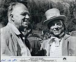 1969 Press Photo director Joshua Logan, writer Alan Jay Lerner ...