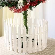 20pcs Decoration Christmas Fence Ornaments Pastoral White Shopee Philippines