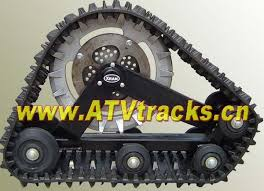 kinds brand of 4wd atv track system