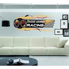 Shop Full Color Racing Car Full Color Decal Full Color Sticker Colored Racing Car Sticker Decal Size 48x76 Frst On Sale Overstock 15456177