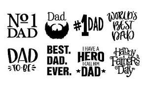 Dad Wine Glass Vinyl Decals Fathers Day Birthday Dad X 8 Stickers 4 00 Picclick Uk