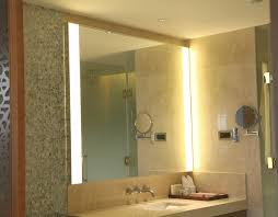 aluminum framed silver bath mirror with