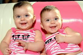 twin baby photo twins smile child