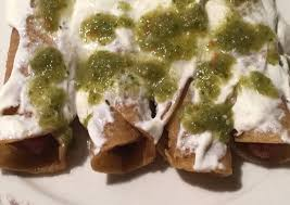 tacos dorados de salchicha receta de