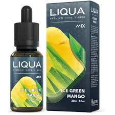 liqua mix ice green mango hawke s bay vapour