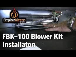 fbk 100 fireplace blower fan kit