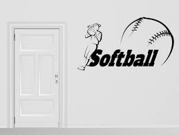 Vinyl Decal Baseball Player Ball Game Sport Wall Sticker N1050 For Sale Online