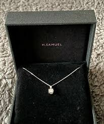h samuel 9ct white gold 1 10 carat
